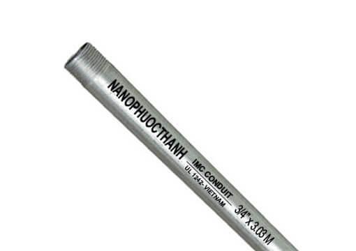Ống thép luồn dây điện IMC Nano-Phước Thành