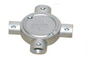 Hộp nối ống JIS C8305 E 4 ngã Nano-Phước Thành (NANO-PHUOC THANH JIS C8305 E Junction screw box with cover - 4 ways )