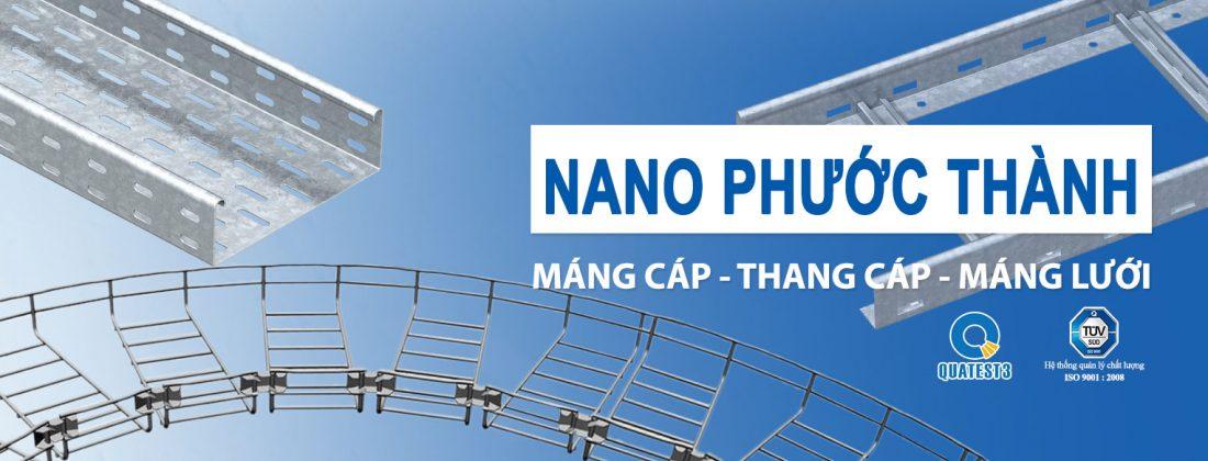 Máng cáp dạng lưới Nano Phước Thành