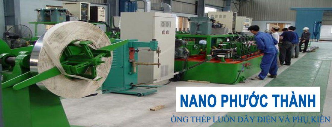 Nhà máy sản xuất ống thép luồn dây điện