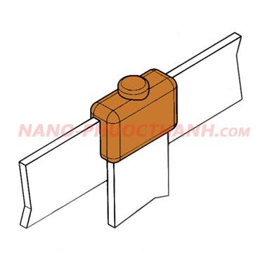 Mối nối hàn hóa nhiệt thanh đồng/ nhôm với thanh đồng/ nhôm BB3